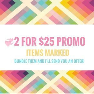 Other - 2/$25💞 items marked! 💕